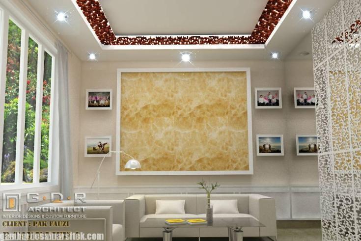 Desain Interior Ruang Tamu dan Keluarga Minimalis (1)