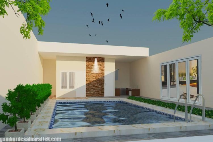 Desain Kolam Renang Rumah inimalis (10)