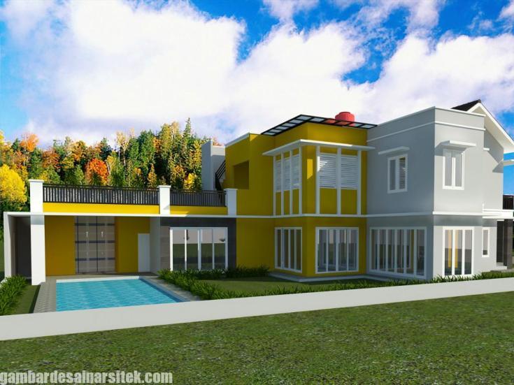 Desain Kolam Renang Rumah inimalis (6)