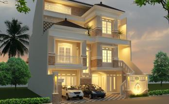 Desain Rumah Minimalis 3 Lantai 8