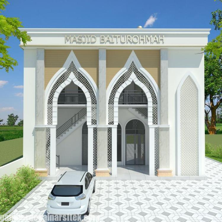 Desain masjid Minimalis Modern (5)