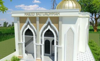 Desain masjid Minimalis Modern 7