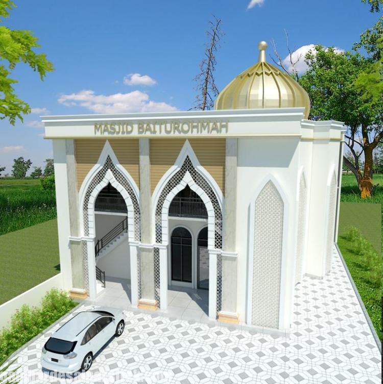 Desain masjid Minimalis Modern (7)