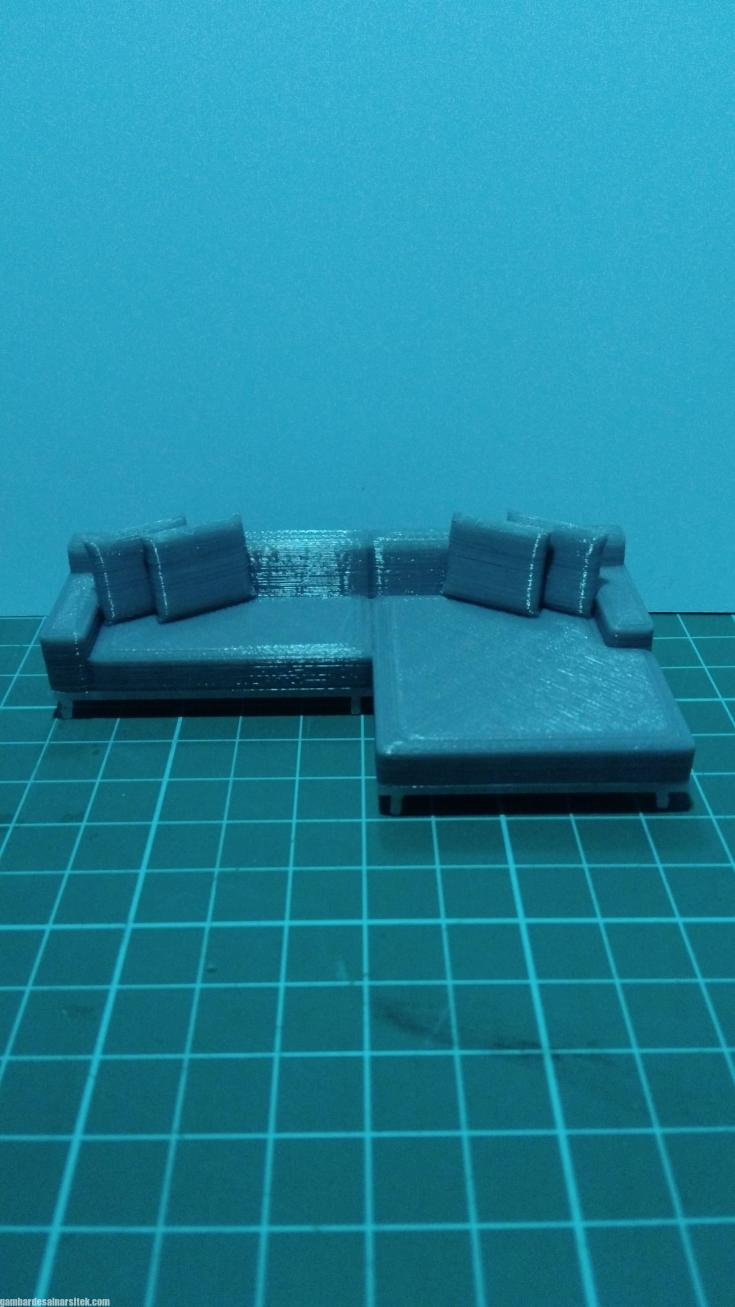 Maket Arsitektur Miniatur Model 39 Bahan maket Sofa 1-30 (1)