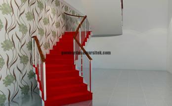 Desain Interior 3D Tangga 3