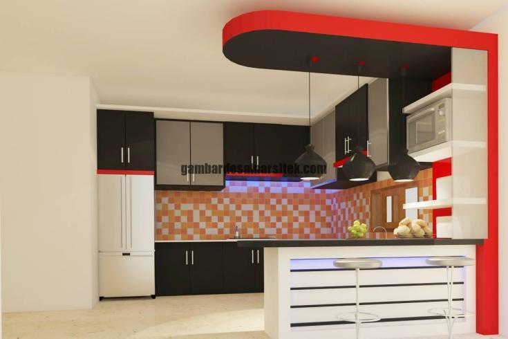 Desain Interior Kitchen Set 6