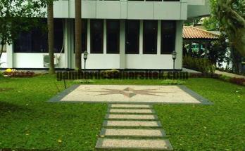 Jasa Pembuatan dan perawatan taman Bandung Jakarta rumput 4