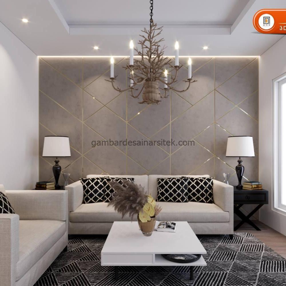 Desain Interior Satu Rumah Dua Lantai Minimalis Mewah 5