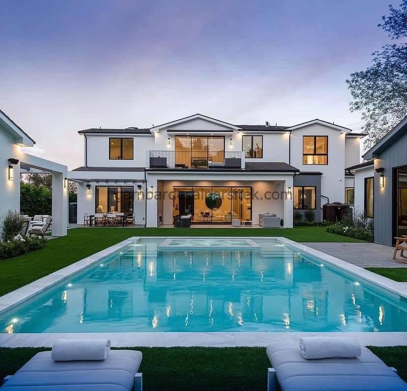 10 Inspirasi Desain Rumah Mewah Minimalis Tahun 2021 1