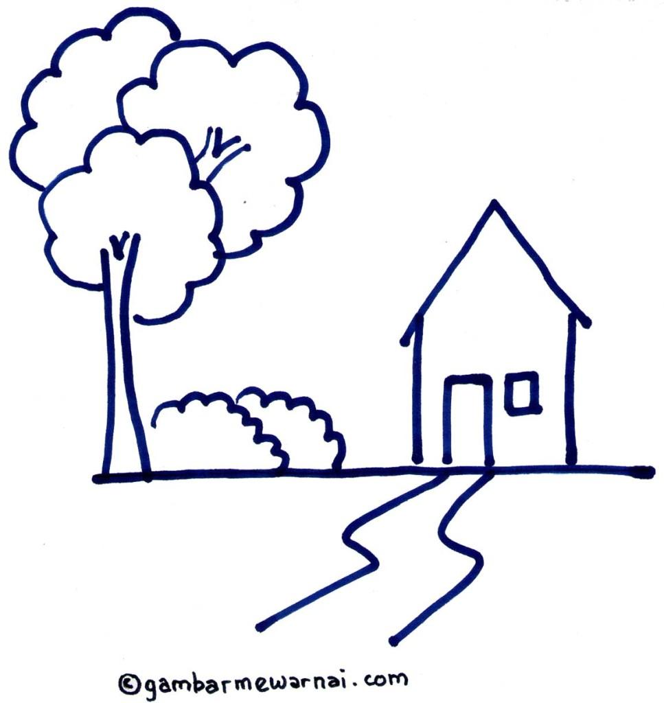 Gambar Rumah Adat Untuk Mewarnai Rumah Zee Free Coloring Pages