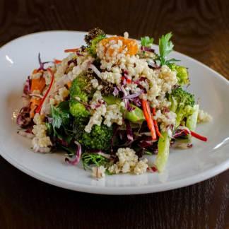 Broccoli Sweet Potato Quinoa Salad