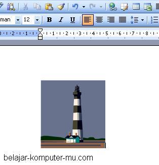 cara menambahkan gambar pada microsoft word clip art