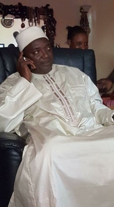 Gambia's New President-Elect Adama Barrow