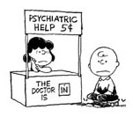 Charlie Brown Psychiatric Help