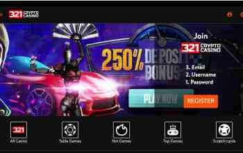 321Crypto Casino Review : Get 250% Bitcoin Welcome Bonus