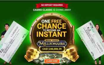 Casino Classic - multiple deposit bonus of up to $€£500 free