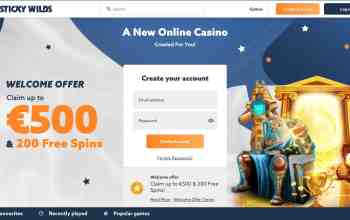 StickyWilds Casino : get €500 bonus + 200 Free Spins on deposit