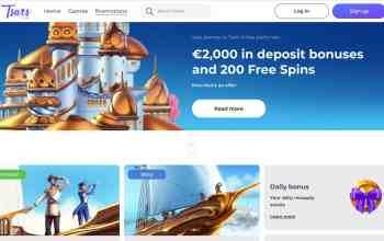 Tsars Casino Review: get 2K in match bonuses + 200spins