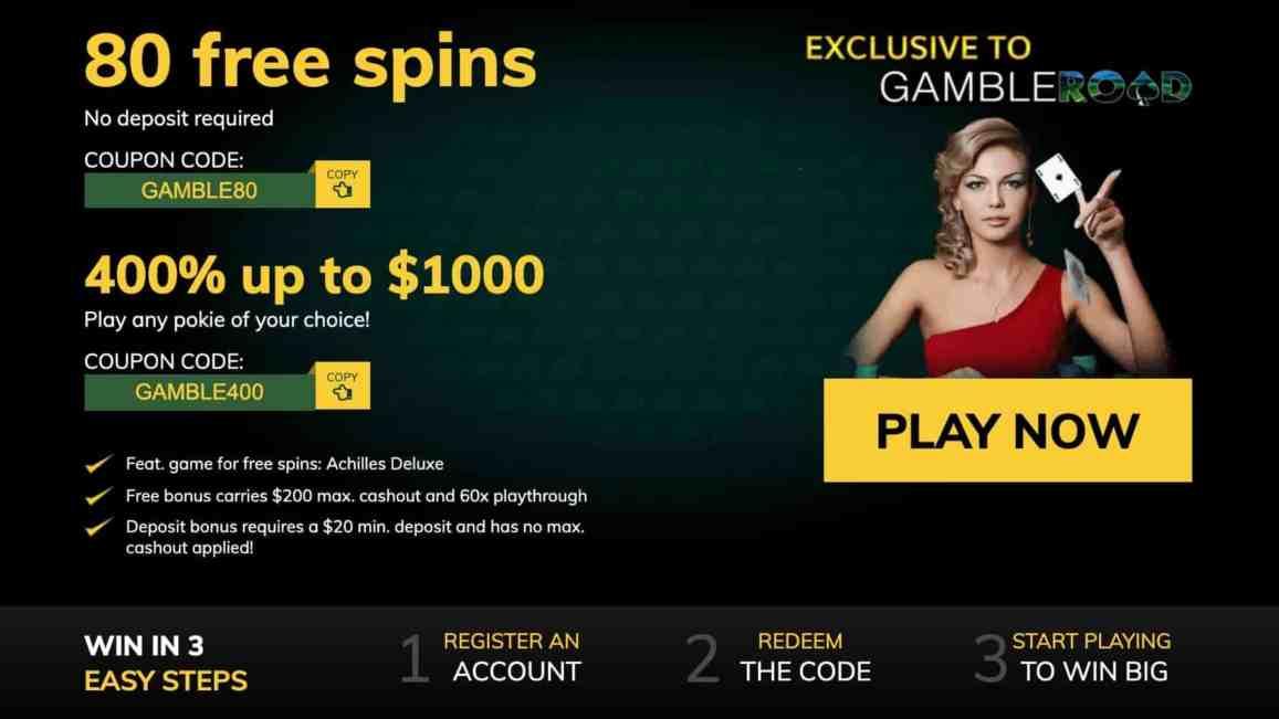 Winward Casino : 40 Free Signup Spins + 675% Deposit Bonus