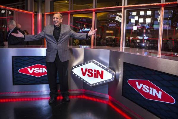 Musburger unveils new studio at South Point for sports ...