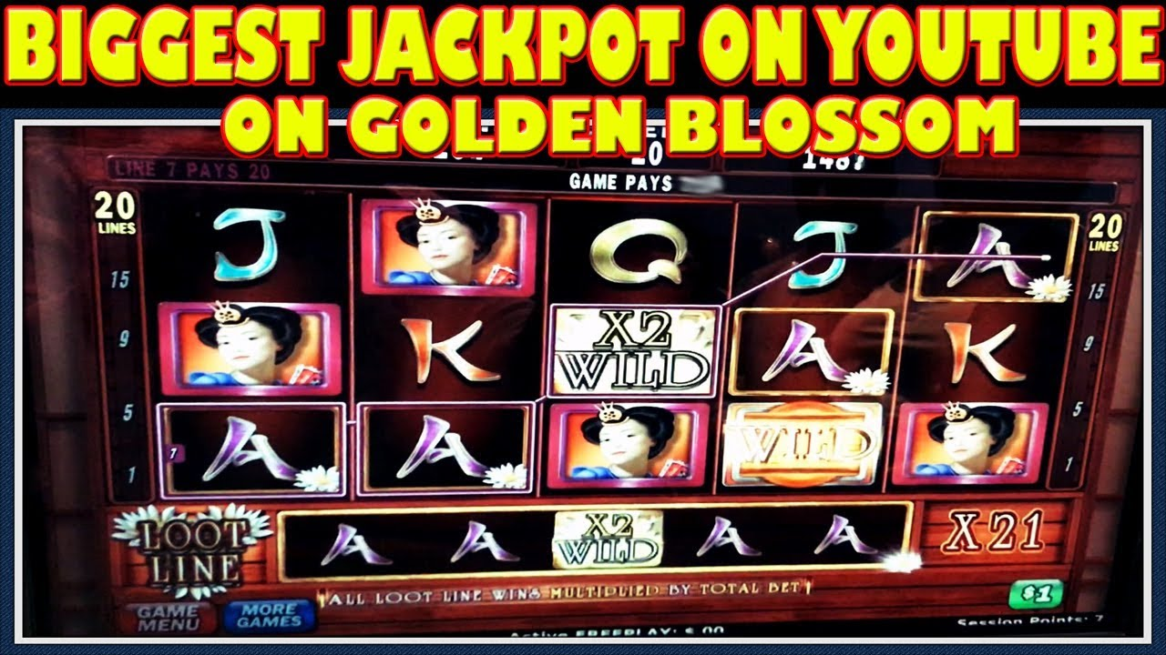 Biggest jackpot on youtube on golden blossom high limit slot machine izmirmasajfo