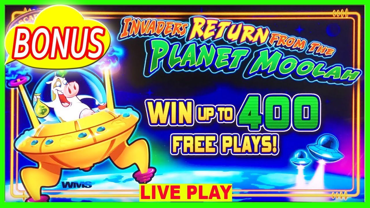 Invaders Return From The Planet Moolah App