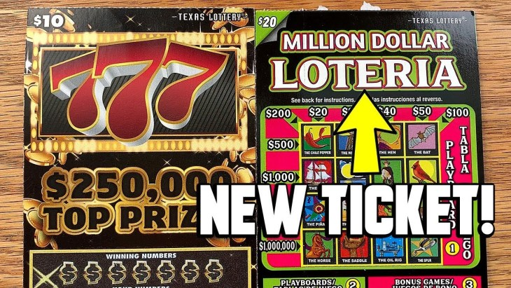 WIN! NEW $20 Million Dollar Loteria + 2X 777 ✪ TEXAS LOTTERY Scratch Off  Tickets