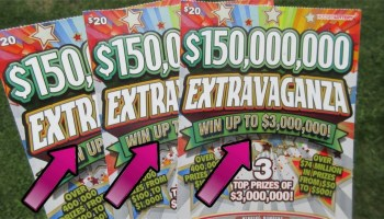 NICE WIN! MILLION DOLLAR LOTERIA!! SCRATCH OFF TICKET FROM