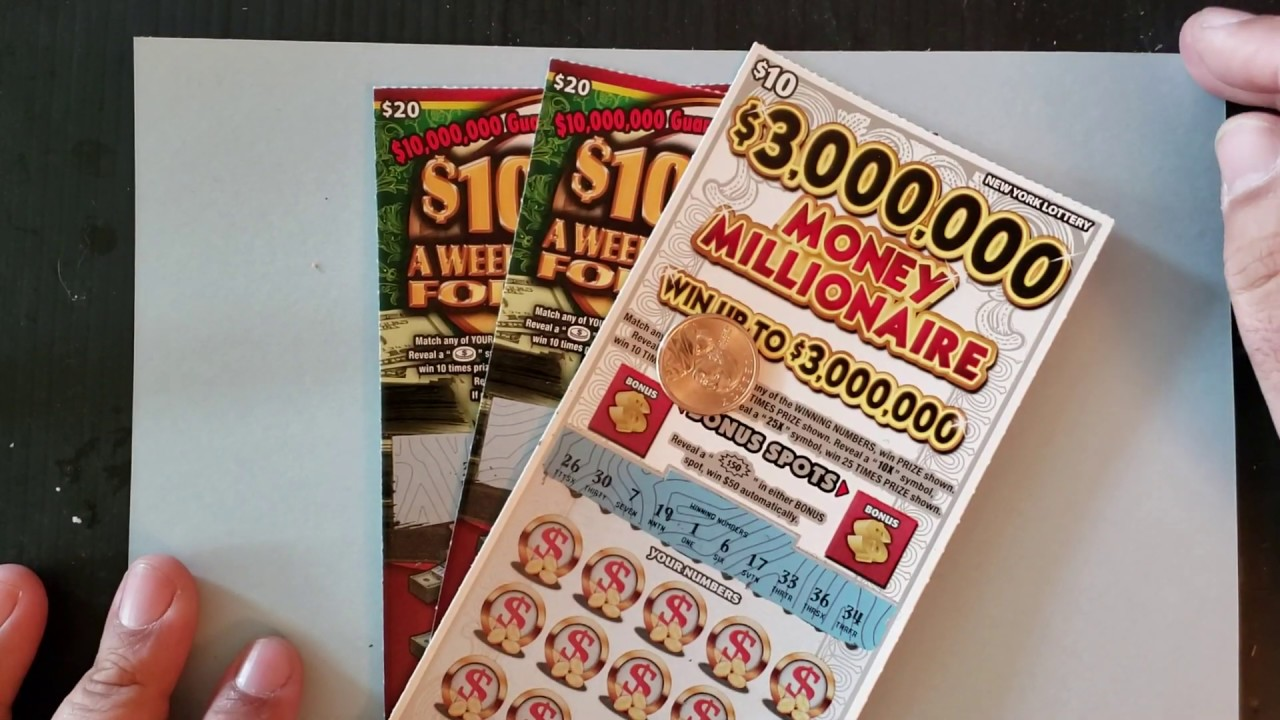 $50 SESSION! WINNER! NEW YORK LOTTERY INSTANT WIN SCRATCH OFF TICKETS   $10000 WEEK FOR LIFE