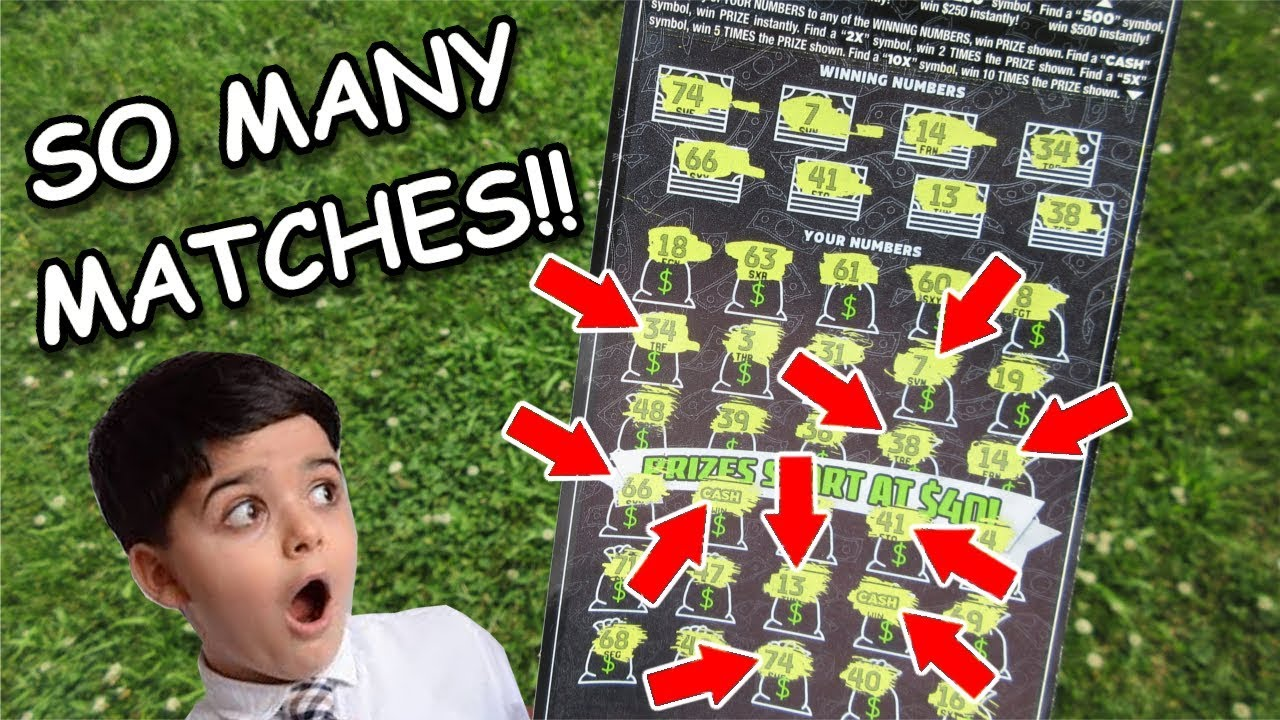 WOW!! 8 Winning Numbers AND 2 Cash Symbols On One Lottery Ticket Scratch  Off!!
