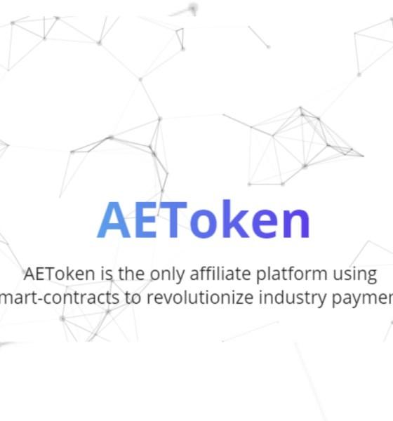 AEToken Affiliate Platform Wins Blockchain Pitch Competition for Best ICO 2018