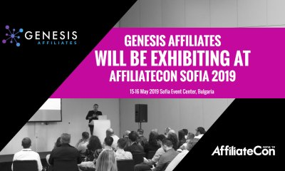 Genesis Affiliates the latest exhibitor to sign up for AffiliateCon Sofia 2019
