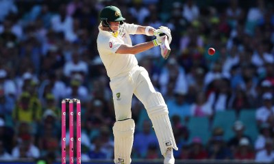 Hitting for six-cricket