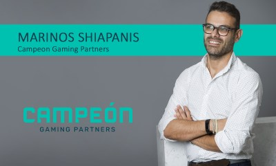 Exclusive Q&A with Marinos Shiapanis, CEO at Campeón Gaming Partners
