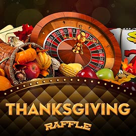 Thanksgiving raffle by Revenue Giants