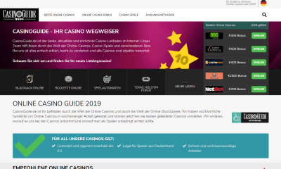 CasinoGuide goes German!