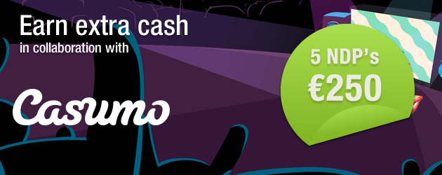 Casumo cash October