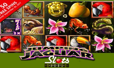jumping jaguar 50 free spins