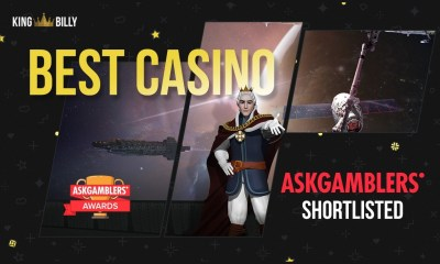 AskGamblers Awards. Three-peat for King Billy!