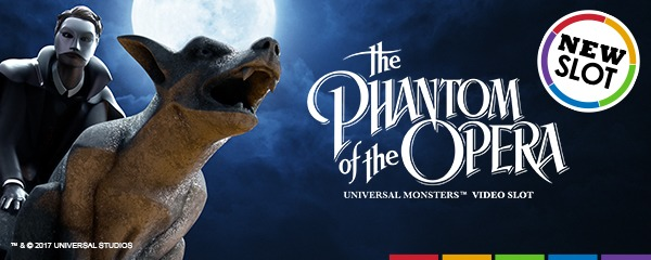phantom of the opera-NetEnt