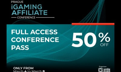 Lucrative Offer from Smile-Expo: Tickets to Prague iGaming Affiliate Conference with a 50% Discount