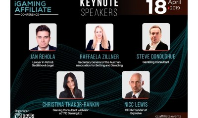 Speakers at Prague iGaming Affiliate Conference: Major lawyers, state authorities and gambling CEOs