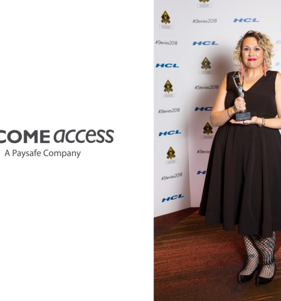 Tara Wilson of Paysafe Group's Income Access Wins Silver Stevie Award