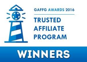 gaffg 2016 awards trusted affiliate program