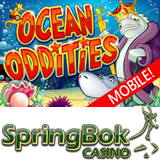 South Africa's Springbok Casino Giving Free Spins and Up to R1500 Bonus to Try New Ocean Oddities Mobile Slot Game