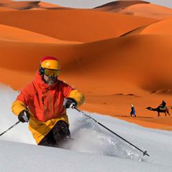 desert ski hill april fools