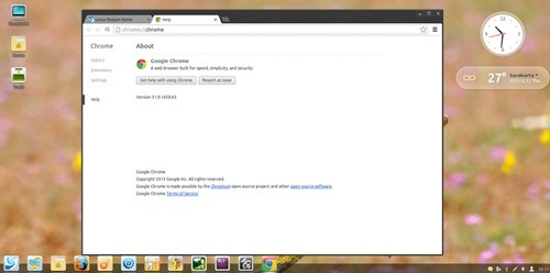 google chrome on linux deepin
