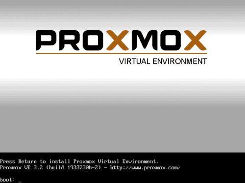 install proxmox 3.2 -1