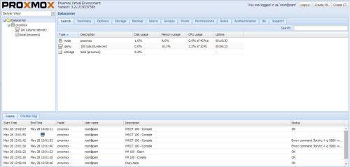install proxmox 3.2 -8