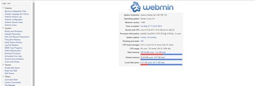 install webmin on clearos 6.5